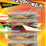 фото Элемент питания LR03 JAZZway CrazyPower PLUS BL-2